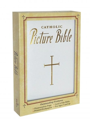 Catholic Picture Bible White 435/13W