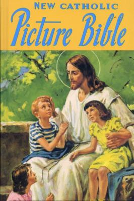 Catholic Picture Bible by Rev. Lovasik - Catholic Bible, Padded Hardcover, 233 pp.
