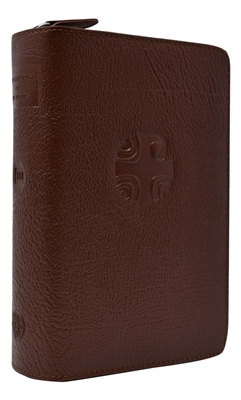 Liturgy of the Hour Brown Leather Zipper Case Vol. III 403/10LC