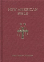 New American Bible Giant Print Cloth Bible