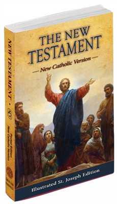 The New Testament Illustrated St. Joseph Edition 630/04