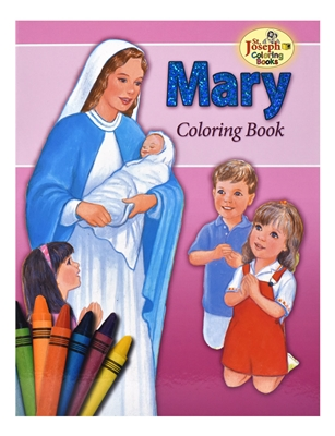 St. Joseph Mary Coloring Book 685