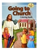 St. Joseph Going to Church Coloring Book 694
