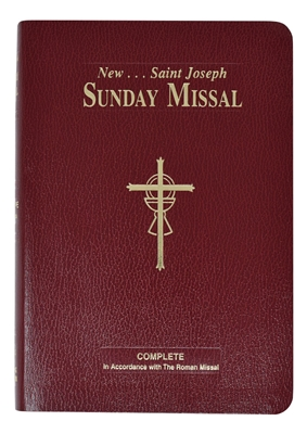 ST. JOSEPH SUNDAY MISSAL--New Revised Liturgy Large Type Edition 822/10BG