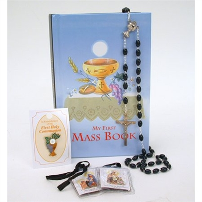 My First Mass Book Boys Kit