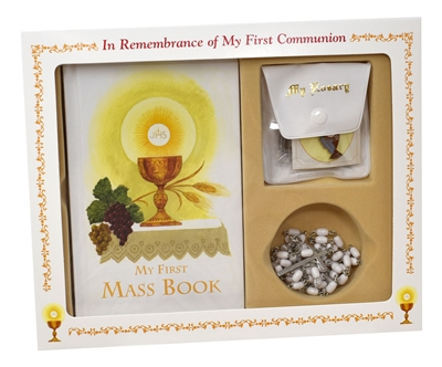 In Remembrance of My First Communion Girl Set 808/56G