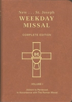 Saint Joseph Weekday Missal Vol I: Complete Edition