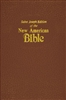 Saint Joseph Medium Size Flexible Leather New American Bible 609/10BN