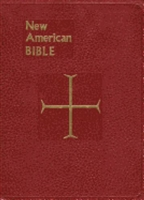 Red Vinyl St. Joseph Edition Catholic Large Print New American Bible Revised Edition 611/10R