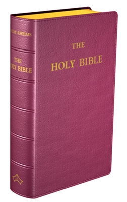 Douay-Rheims The Holy  Bible (Pocket size)