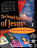 The Complete Gospel Stories of Jesus by Deacon Dick Folger