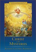 Christ in His Mysteries by Blessed Columba Marmion