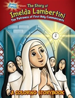 Coloring Storybook - The Story of Imelda Lambertini