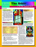 Faith Charts The Bible At a Glance by Scott Hahn
