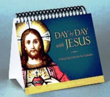 Day by Day with Jesus-A Stand-Up Calendar for Catholics