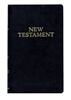 Black Pocket RSV New Testament