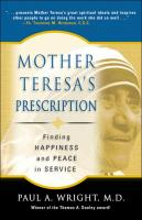 Mother Teresa's Prescription