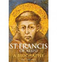 St. Francis of Assisi by Omer Englebert - Catholic Saint Book, Softcover, 282 pp.