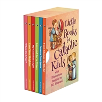 Little Books for Catholic Kids with illustrations inspired by M,I. Hummel Book Set