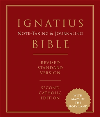 Ignatius Note-Taking & Journaling Bible Revised Standard Version Second Catholic Edition
