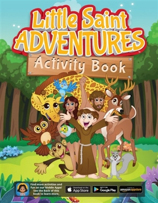 Little Saint Adventures Activity Book by Sophia Institute Press