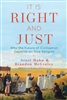 It Is Right and Just by Scott Hahn & Brandon McGinley