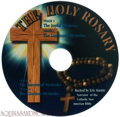 The Holy Rosary CD recited by Eric Martin