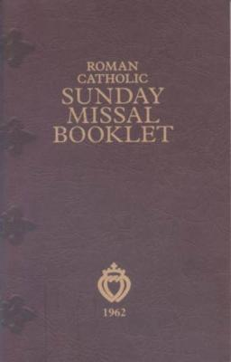 Roman Catholic Sunday Missal Booklet--a Latin English Missal