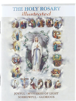 The Holy Rosary Illustrated (Pocket Size) HR-03