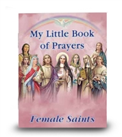 My Little Book Of Prayers Female Saints PB-04