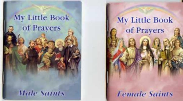 My Little Book of Prayers edited by Rev. Michael J. Sullivan, softcover 65 pages