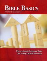 Bible Basics by Steve Kellmeyer