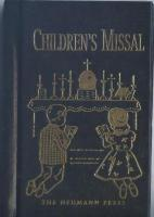 Latin Mass Children's Missal, by Fr. H. Hoever