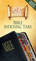 Great Adventure Catholic Bible Indexing Tabs  by Jeff Cavins