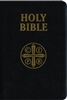 Holy Bible Douay-Rheims Version Black Leather