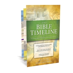 The Bible Timeline Chart  by Jeff Cavins and Sarah Christmyer