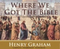 Where We Got The Bible CD Audio Book