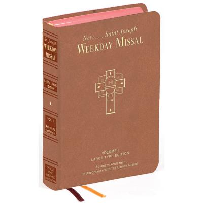 St. Joseph Weekday Missal Large Type