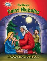 The Story Of Saint Nicholas Coloring Storybook