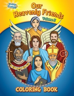 Our Heavenly Friends Vol 3: Coloring Book