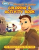 Following in His Footsteps Coloring and Activity Book: The Blessings of Living out Our Faith