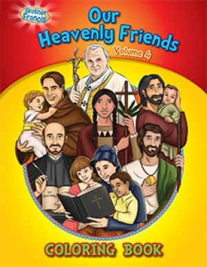 Our Heavenly Friends Vol 4: Coloring Book