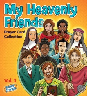 Brother Francis My Heavenly Friends Prayer Card Collection Set!