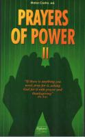 Prayers of Power II, Edited by Maisa Castro