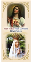 First Friday First Saturday Devotions (Laminated pamphlet)