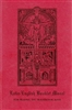 Latin English Booklet Missal - Book of Prayer, Softcover, 68 pp.