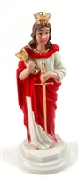 "4"" Saint  Barbara  Magnetic Statue"