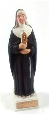 "4"" Saint Clare of Assisi Magnetic Statue"