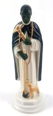 "4"" Saint Martin of Porres Magnetic Statue"