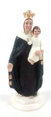 "4""Our Lady of Mount Carmel Magnetic Statue"